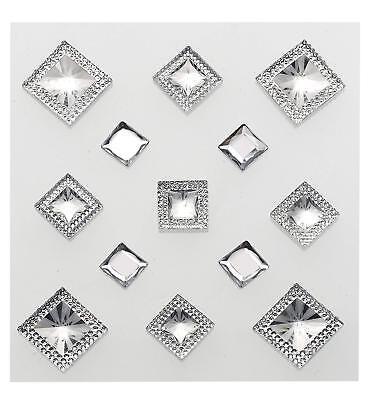 (Jolee's Boutique ~ Dimensional Stickers/ Embellishments~ Pyramid Gem Diamond)