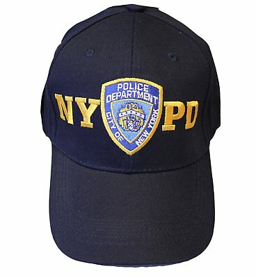 NYPD Baby Infant Baseball Hat New York Police Department Navy Blue One Size