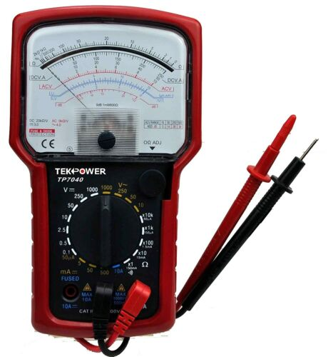 Tekpower TP7040 AC/DC Analog Multimeter Tester with High Accuracy