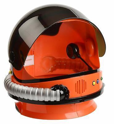 Realistic Astronaut Costume (Kids Astronaut Helmet NASA Space Realistic Countdown Blastoff Sounds Shield)
