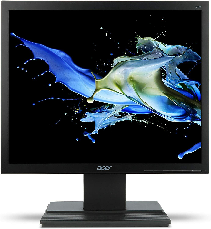 Acer V176Lbmd 43,18 cm (17 Zoll) Monitor (VGA, DVI, 5ms Reaktionszeit) schwarz