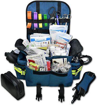 Trauma Bag Kit Small First Responder Aid Medical Supplies Emergency Full Emt Bls