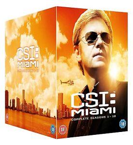 CSI MIAMI COMPLETE SEASON 1-10 DVD BOXSET