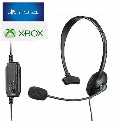 Cuffie Gaming per PS4 XBOX ONE PC Auricolare con Microfono e Controllo Volume
