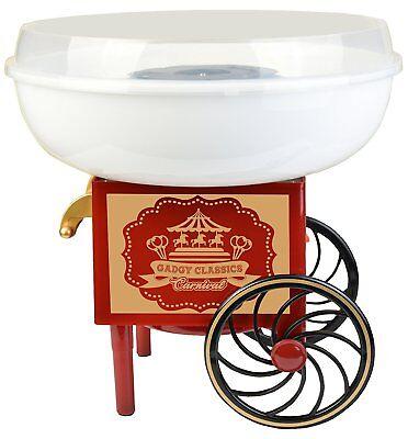 Gadgy ® Maquina de Algodón de Azúcar  Cotton Candy Machine para Casa  USA Azúcar