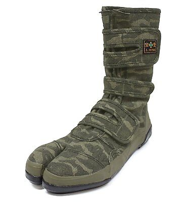 Used, Japanese CAMO SPLIT TOE TABI SHOES GUARD SAFETY Boots VO-8021 Size US10(28cm) for sale  Shipping to Canada