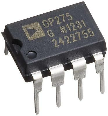 1pcs Analog Devices Op275gpz Op275 Dual Bipolarjfet Audio Op Amp Dip-8 - New