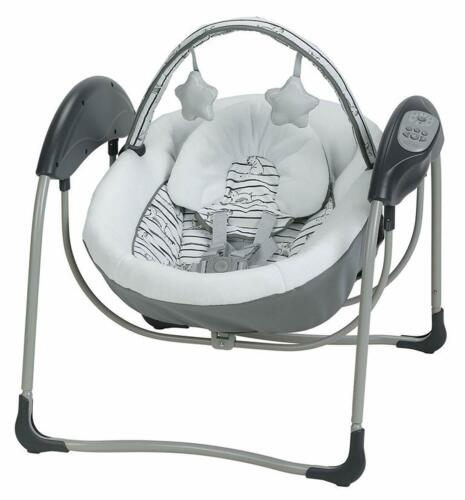 Graco Baby Glider Petite LX Portable Gliding Swing - Ripley - New! Free Shipping