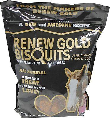 Phoenix Product Renew Biscuits Equine Nutrition Horse Treat Healthy Fiber 2 Lbs