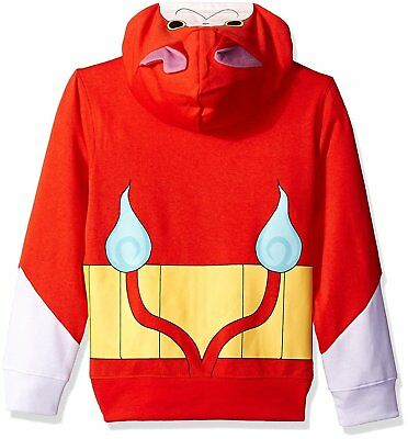 Yo-Kai Watch Halloween Jibanyan Costume Hoodie  Child Red Party Boys M 5//6 NEW (Watch Halloween 6)