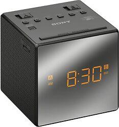 Sony ICF-C1T Alarm Clock Radio - BLACK