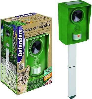 Defenders Mega-Sonic Solar Cat Repeller Motion Activated Cat Repellent Solar