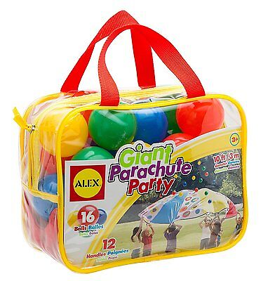 ALEX Toys Active Play, Super Parachute, Ball Bouncing Airborne Action 777X New