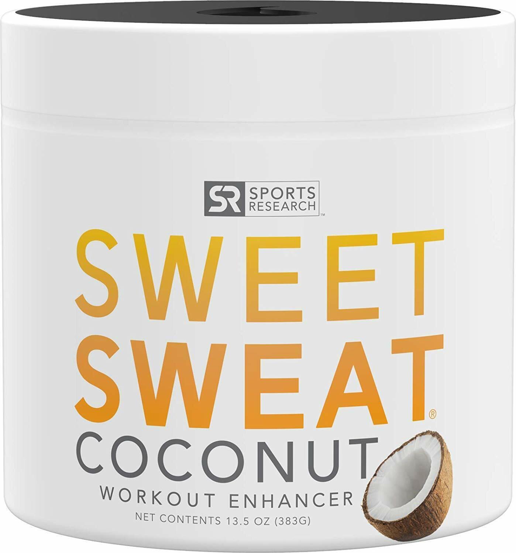 SWEET SWEAT JAR COCONUT 13.5 oz  Workout Enhancer Cream