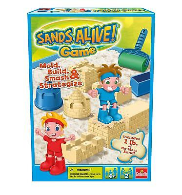 NEW Sands Alive Game by Goliath Includes 1 lb of no mess Sand