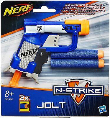 Nerf N-Strike Elite Jolt Blaster Foam Dart Gun Powerful Pocket Sized Trigger New