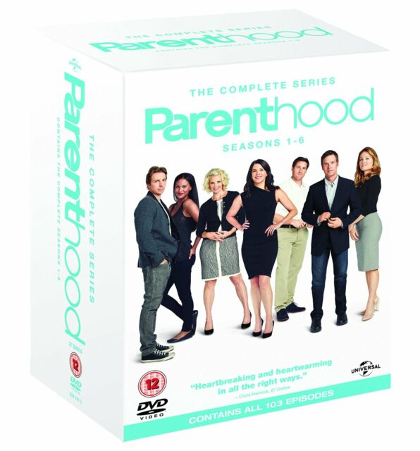 Parenthood Complete Series Seasons 1 2 3 4 5 & 6 1-6 DVD Box set Region 4 NEW