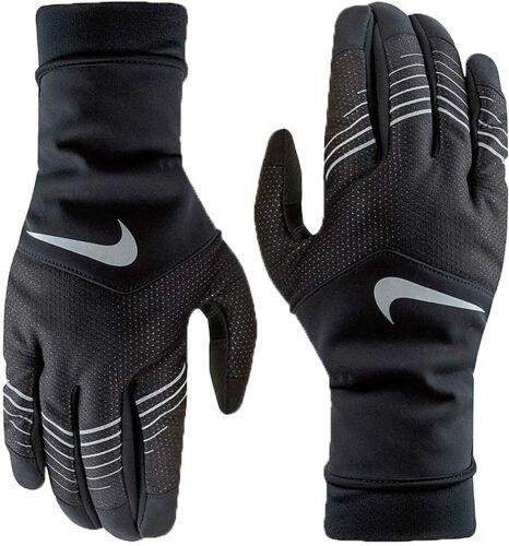 MENS NIKE Storm-Fit Hybrid Run Glove Black (NRGD8003), Sz S-M, 100% AUTHENTIC!!