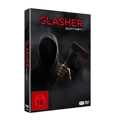 Halloween Party Movie 2017 (Slasher - Guilty Party - Season 2 -TV Series Halloween NEW SEALED R2 DVD Box)