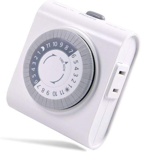 Philips Home Basic Timer 2 Outlet Plug