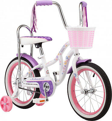 Girls Bloom Bike 16-inch Wheels Includes Fenders Ages 3 to 5