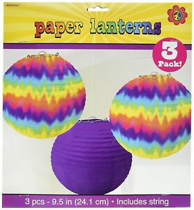 Tie dye Groovy Party Supplies Paper 9.5