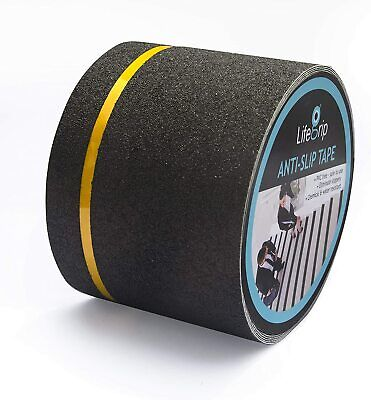 Safety Anti Slip Tape Rubberized 4 X 30 Roll Non Skid Stairs Boat Step Grip