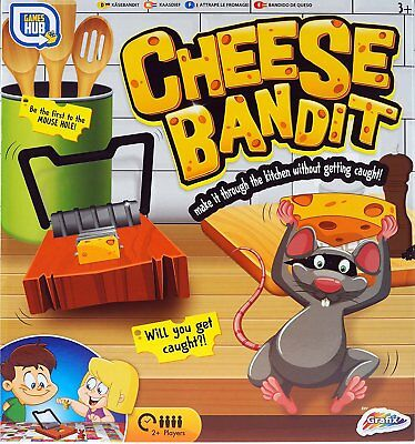Children's Cheese Bandit Mouse Trap Family Board Game Can you survive? R05-0302](Mouse Trap Board Game)