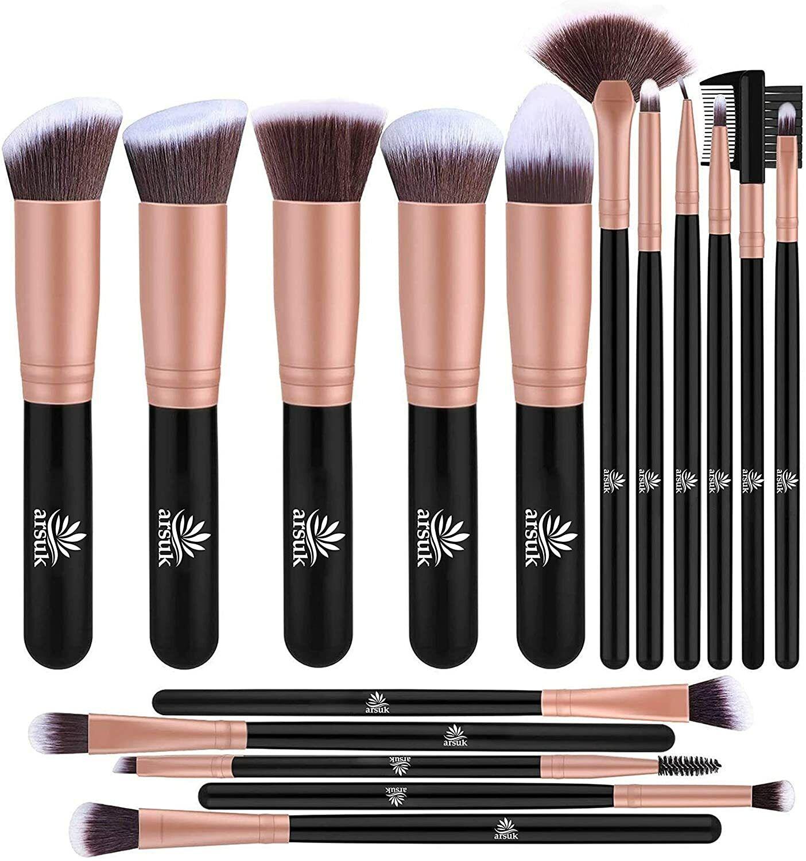 16pcs Makeup brushes