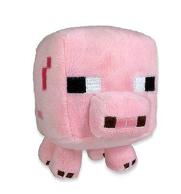 Minecraft Pig Plush Toy   New   Free Fast Usa Shipping