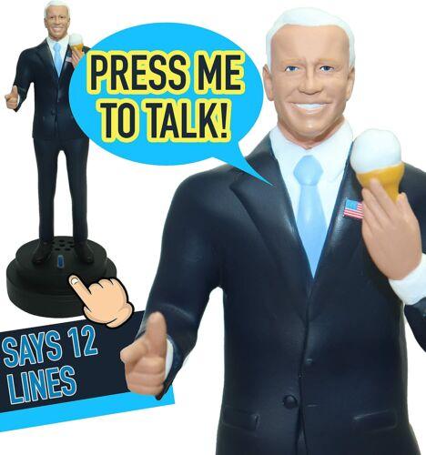 Talking Joe Biden Figurine, Real-Life Novelty Action Figure,12 Iconic Lines