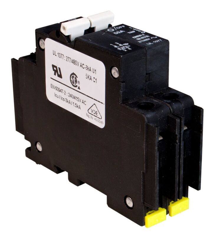 MidNite Solar MNEAC Circuit Breakers 120/240 VAC 2-Pole 3,000 AIC