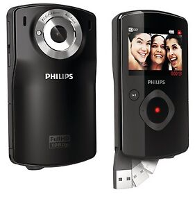 Philips CAM110BL/37 10 MP Digital Camera with CMOS Sensor and 4 x Optical Zoom