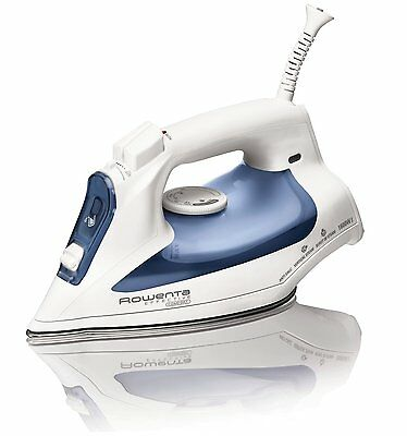 Rowenta Effective Comfort Steam Iron with 300-Hole Stainless Steel, DW2070, New