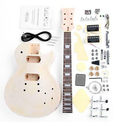 Rock Tile (Rocktile Single Cut E-Gitarre Bausatz Selber Bauen Do it Yourself Kit DIY Set)
