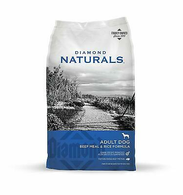 Diamond Naturals Dry Food for Adult Dog, Beef and Rice Formula, 40 Pound Bag](Pound Dog)