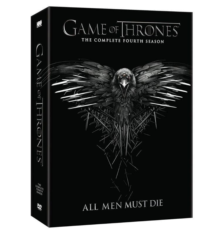 Game of Thrones The Complete Fourth Season 4 (DVD, 2015, 5-Disc Set) New