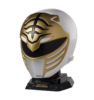 Power Rangers Legacy Mighty Morphin Helmet Display Set, White Ranger