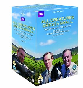ALL CREATURES GREAT AND SMALL Complete Series 1 - 7 + Xmas Specials SEALED/NEW