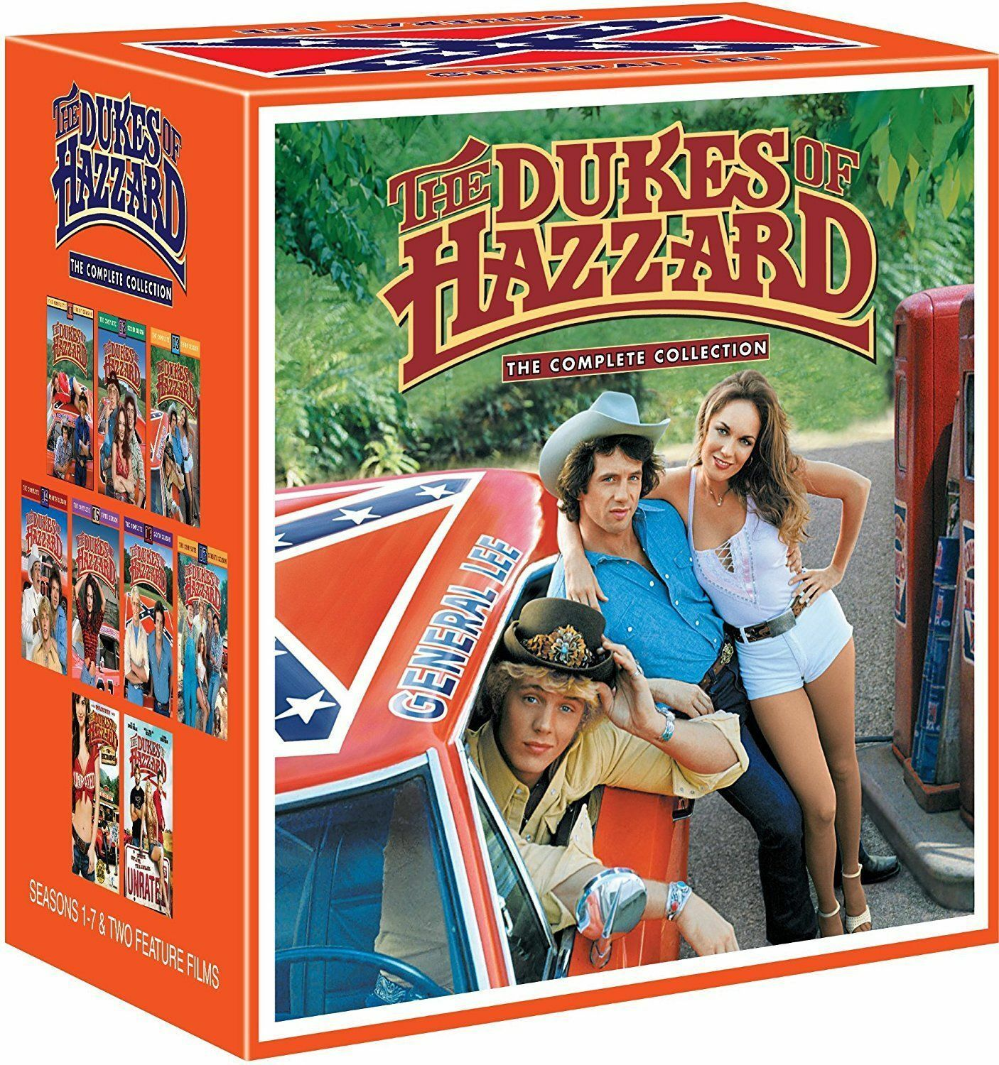 Купить Warner Home Video - The Dukes of Hazzard Complete Series Collection Seasons 1-7+2 Movies DVD Box Set