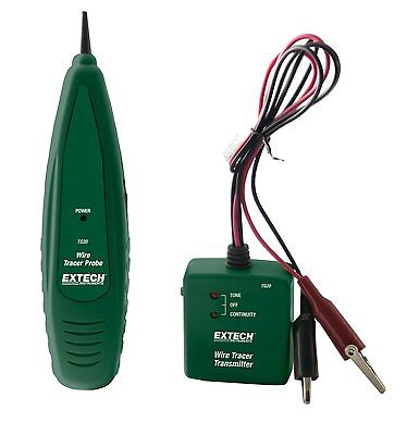 Extech Instruments Tg20 Wire Tracer Tone Generator Kit