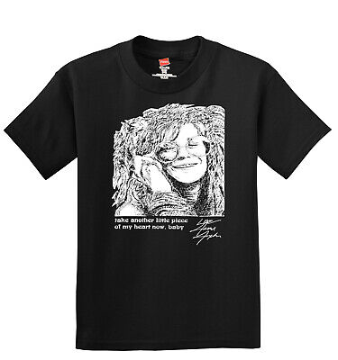 Janis Joplin Men's T-Shirt ------ Take Another Little Piece Of My Heart Now (Take Another Piece Of My Heart Now Baby)