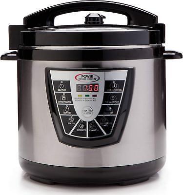 Canning Pot (Power Pressure Slow Cooker XL Pot Canning Quart Crock Kitchen New 6 QT )