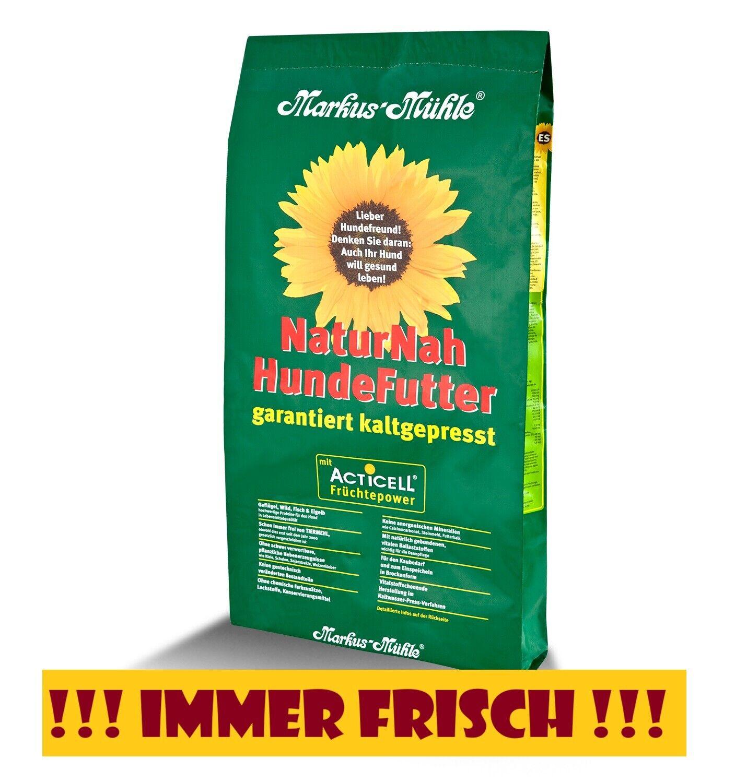 Markus Mühle Naturnah Hundefutter 15 kg (mindestens 6 Monate haltbar!)