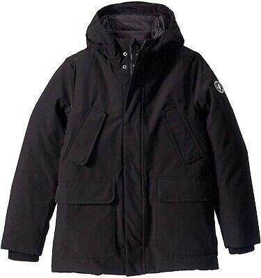 Save the Duck 251304 Kids Boy's Save the Arctic Parka Coat Black Size 16