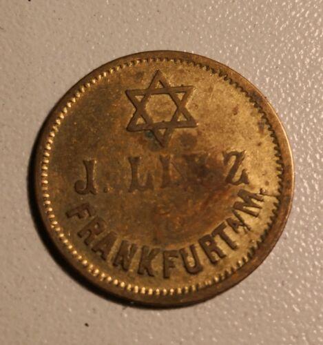 Original German WW 2 - Jewish Token - Fankfurt