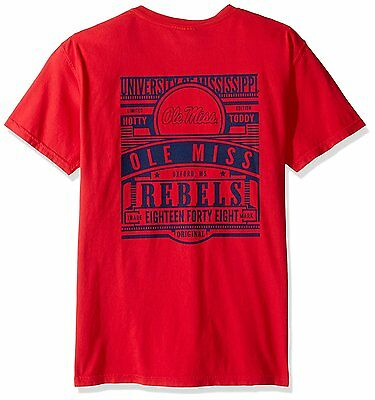 Ole Miss Rebels NCAA Limited Edition Comfort Colors T-shirt - - Ole Miss Colors