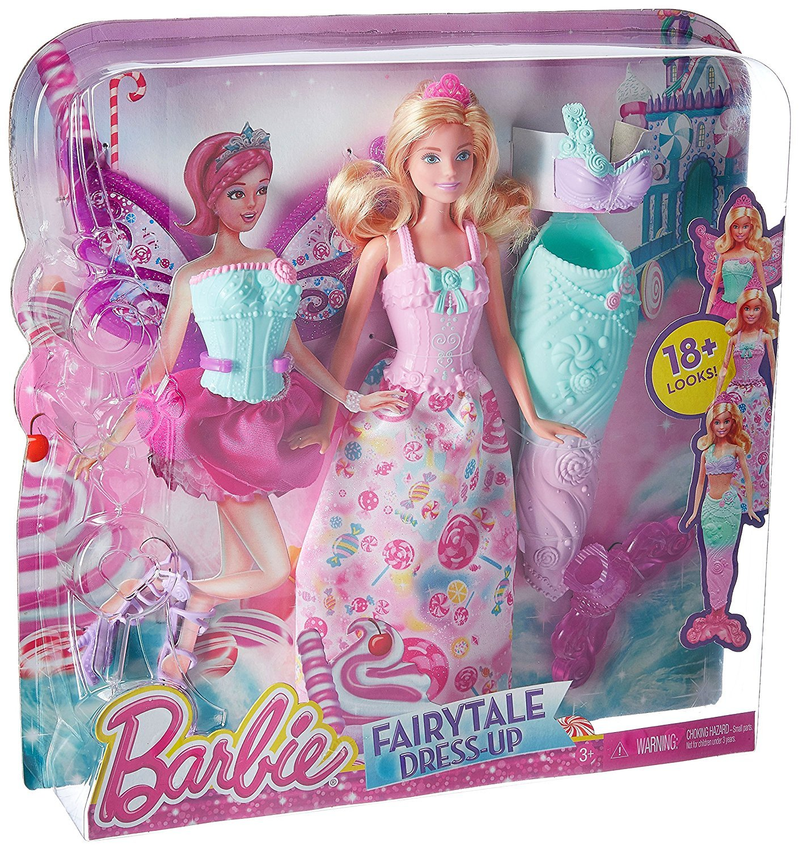 Barbie Fairytale Dress Up Barbie Doll Fairytale Doll