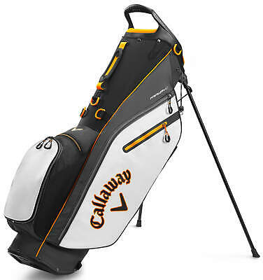 Callaway Mavrik Fairway C Stand Bag 2020 Black/White/Orange Golf Carry Bag New