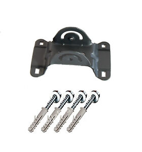 SKY DISH WALL BRACKET WITH FREE BOLTS AND PLUGS FOR FIXING !